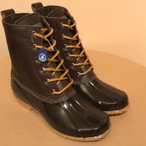 G.H. Bass Daisy Duck boots women leather NEW